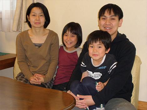 資産形成相談 東京都八王子市 独立系FP ライフアーキテクチャ お客様家族の写真